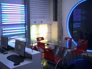 Show room of Ledlights